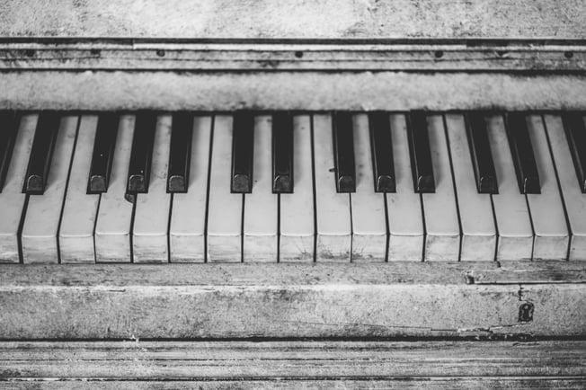 intermediate piano music